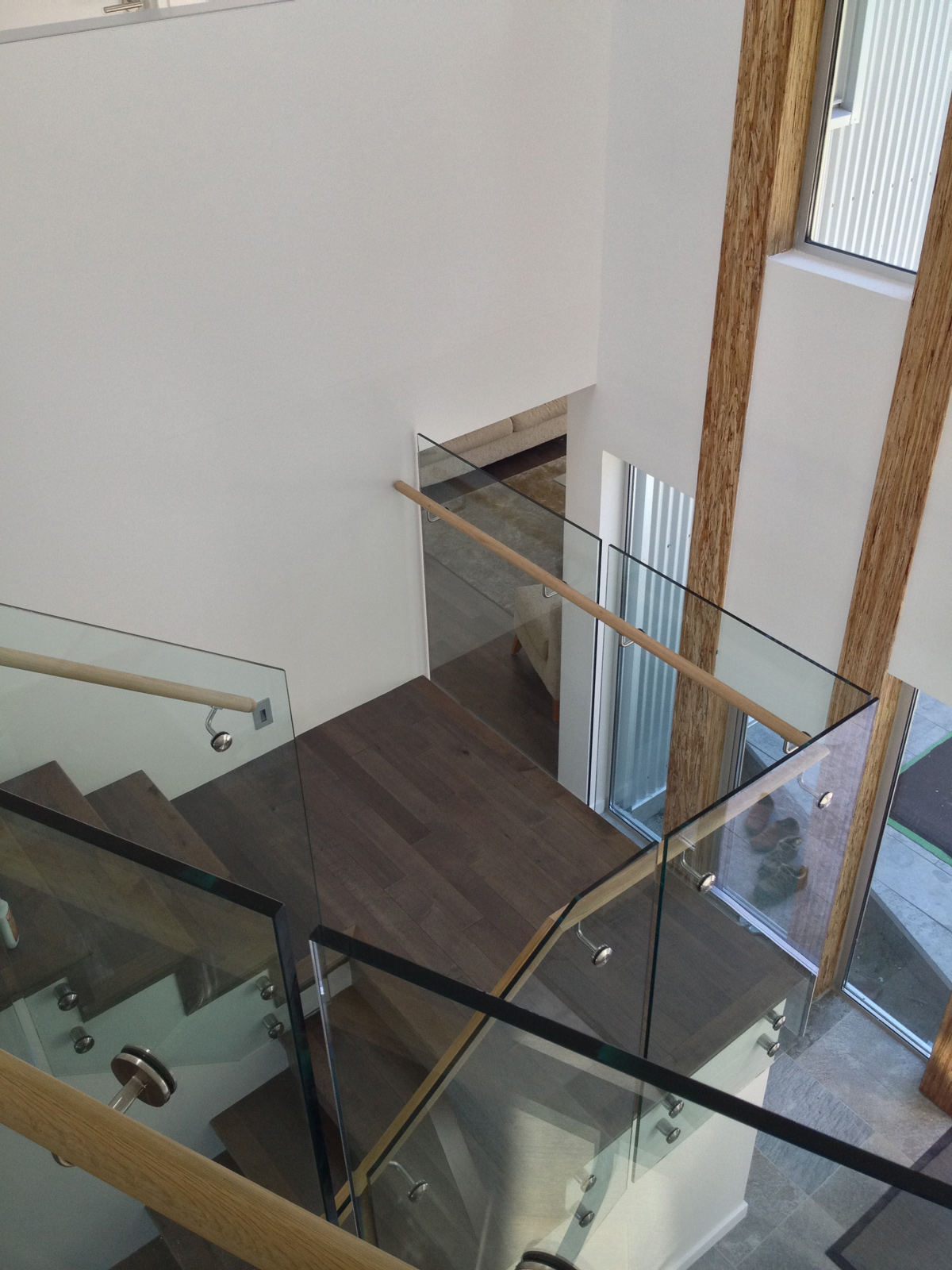 Glass Barrier For Balcony